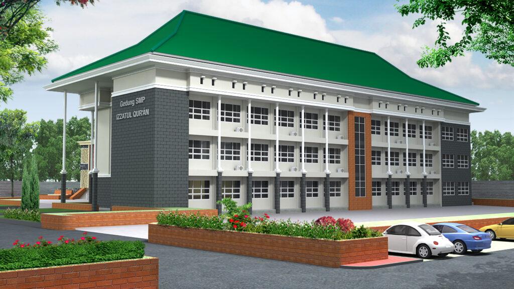 Gedung Sekolah SMP 001