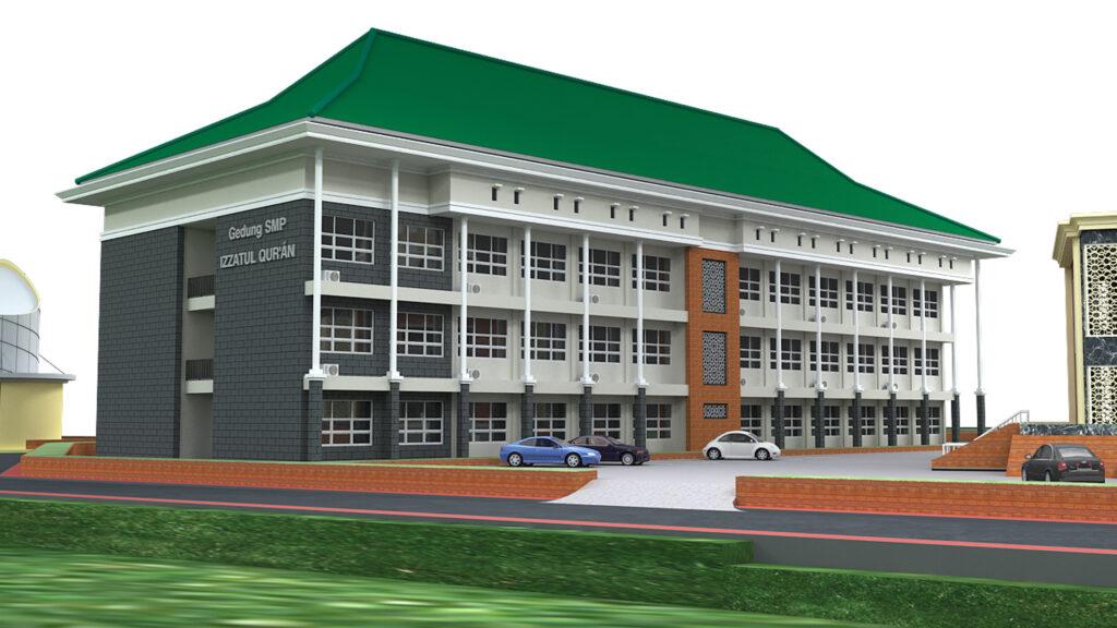 Gedung Sekolah SMP 004